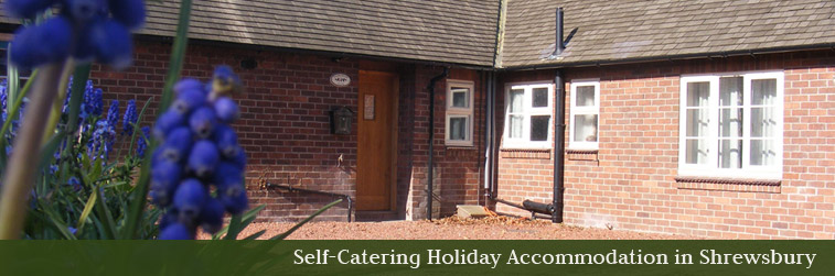 Shropshire holiday cottage